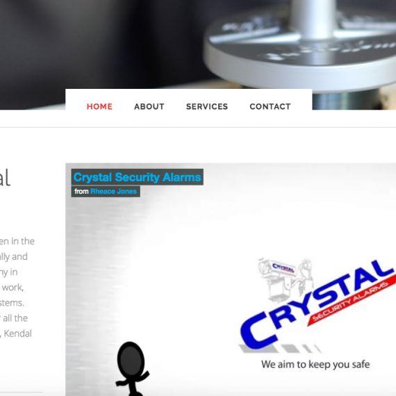 Crystal Alarms #websitedesign #webdesign #html