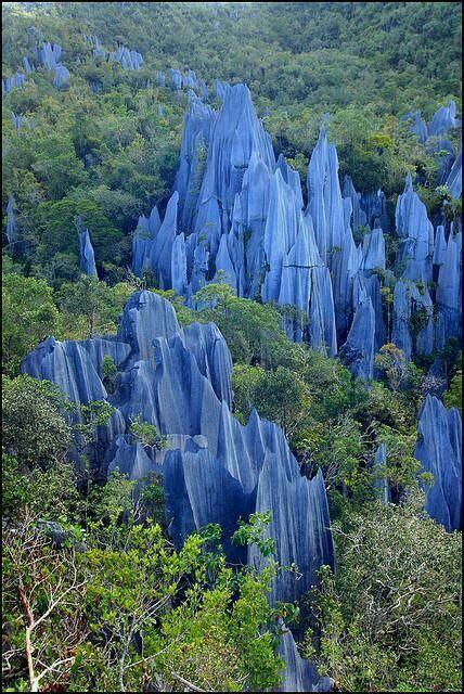 The Pinnacles,  Borneo Malaysia