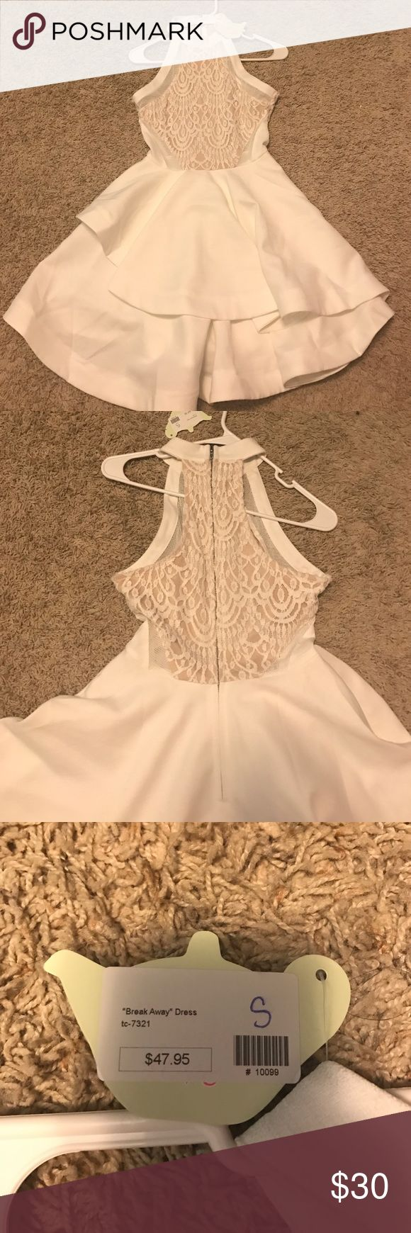 White dress dream meaning - Nwt White Dress Beautiful White Dress Nice Durable Material Tea N Cup Dresses