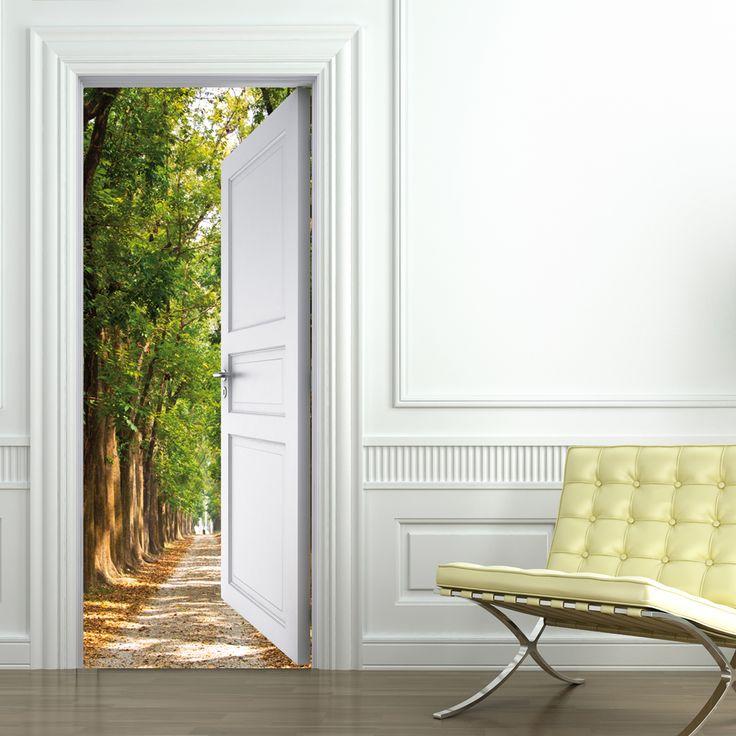 Adesivo per porte sentiero nel 2019 Porte zen, The doors