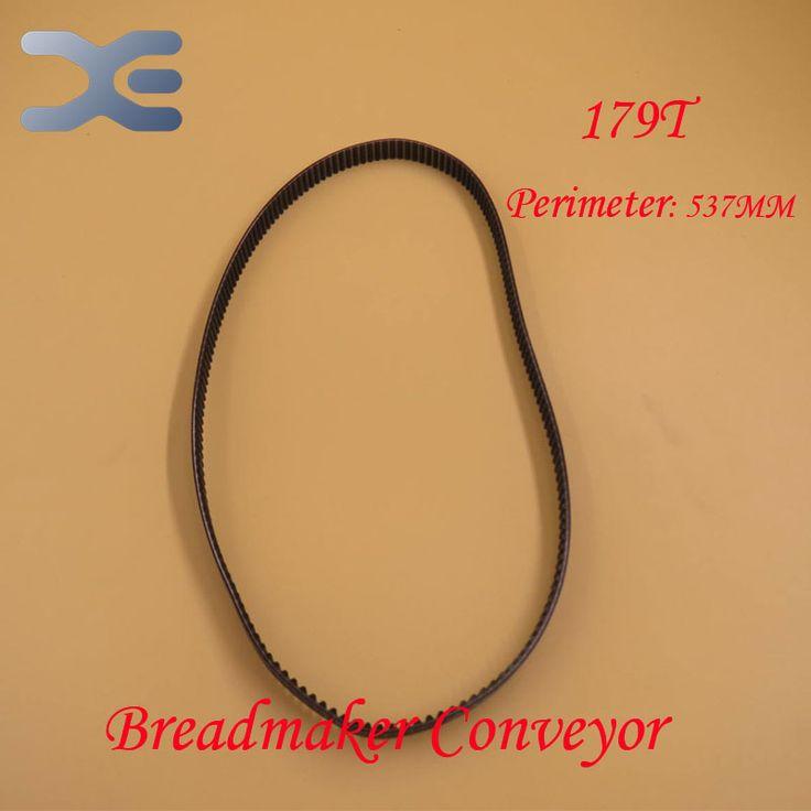 Free Shipping Breadmaker Conveyor Belts 179T Perimeter 537mm Kitchen Appliance Parts Bread Maker Parts