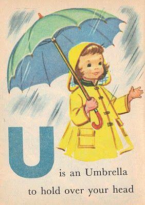 U is an Umbrella - Rand McNally Junior Elf book.