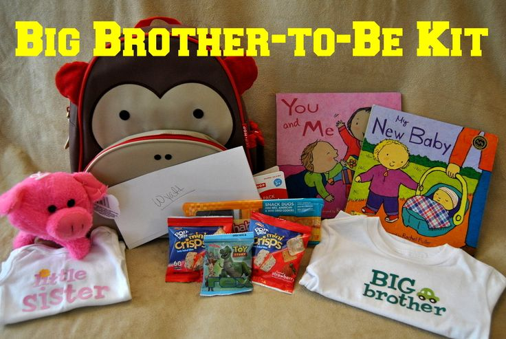 Mommy Ate All The Cookies: Big Brother-to-Be Kit( just in case I am blessed with another baby :) )