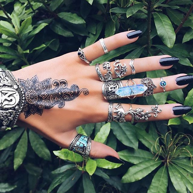 Long Black Rings
