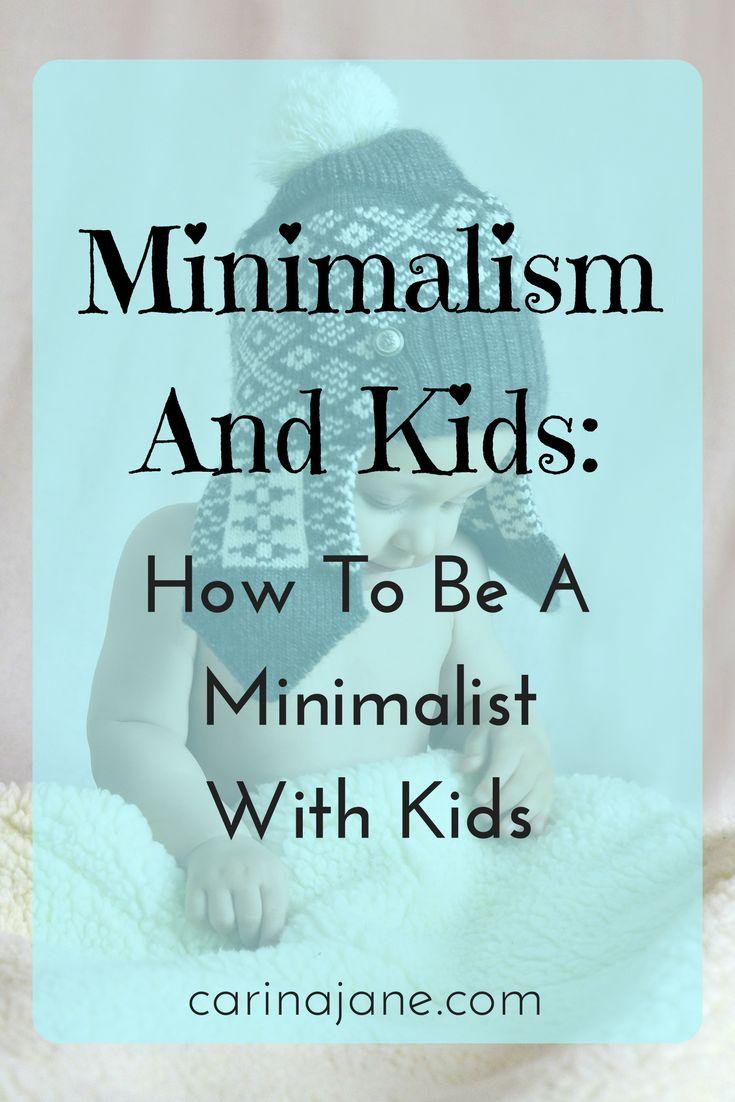 Minimalism and kids
