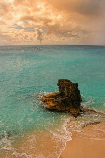St. Maarten.  So beautiful!  We'll get there one day via Disney Cruiseline of course.  Is there any other way?
