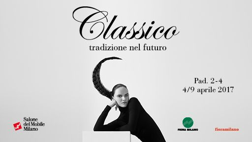A classic style that looks to the future, straddling timeless eras; a crosscutting home furnishing category that is, of itself, highly contemporary. Discover the Classic: Tradition in the future, the new 2017 #SalonedelMobile Classic exhibition format at Pavilions 2 and 4