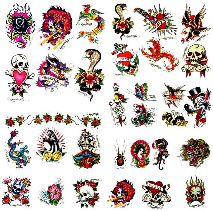 265 best ED HARDY images on Pinterest | Glitter tattoos, Tattoo ...