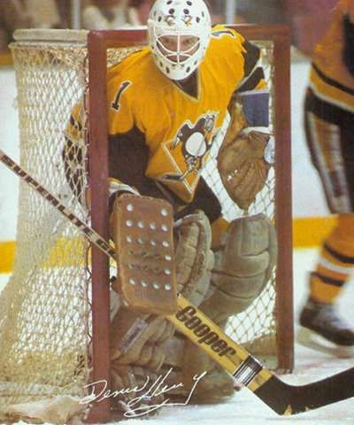 Pens' old altrnates. Denis Herron hockey - Google Search