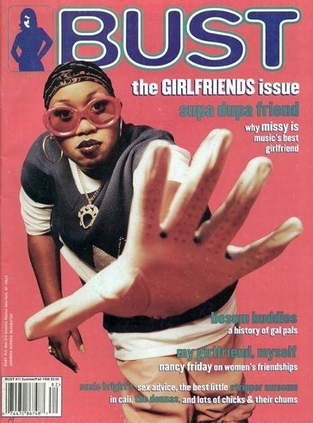Missy Elliot, Bust Magazine 1998, Throwback Thursday