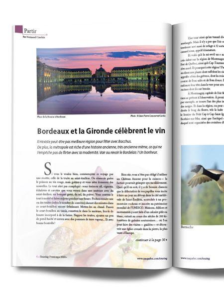 French Magazine Redesign
