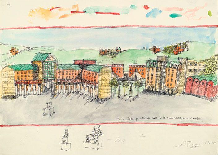Oltre 25 fantastiche idee su architettura residenziale su for Aldo rossi architettura della citta