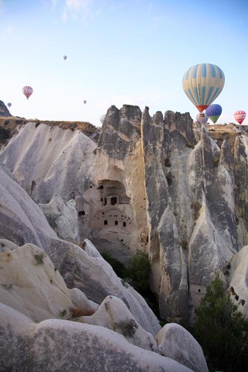 Cappadocia, Turkey-great place for a hot air balloon