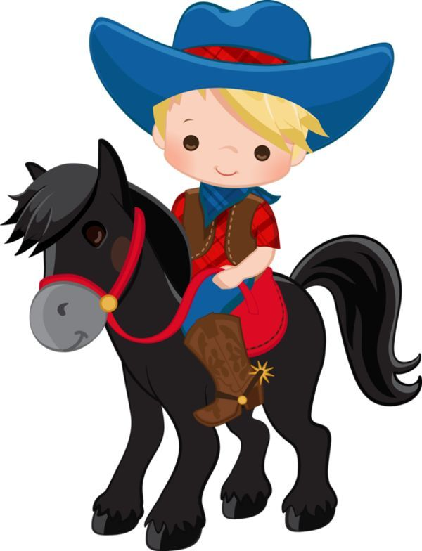 Cute Cowboy Clipart Town On About Cowboy Baby Desenho De