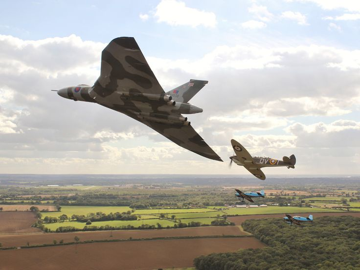 Britain's Most Glorious Cold War Bomber Jet Takes Flight Again | Autopia | WIRED