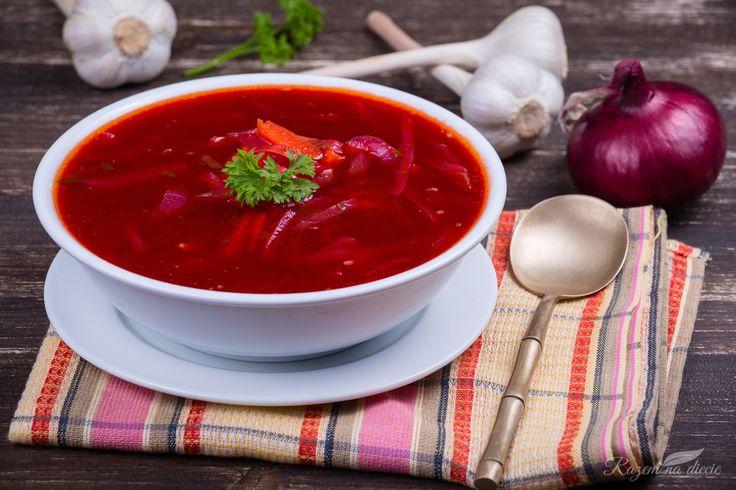 Barszcz ukraiński na poście - Dieta dr Dąbrowskiej | dieta warzywna efekty po miesiącu | dieta warzywno owocowa | oczyszczająca dieta