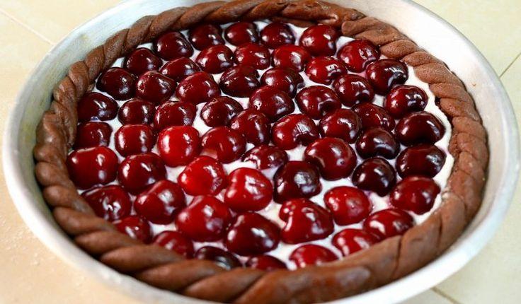 TORTA CROSTATA DI CILIEGIE Ricetta Facile - Cherry Pie Easy Recipe | Fatto in casa da Benedetta