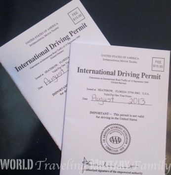 How to get an AAA International Driving Permit, find out more at http://www.worldtravelingmilitaryfamily.com/2013/05/international-drivers-license.html