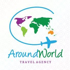 Around The #World #Logo
