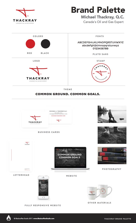 Brand Palette: Michael Thackray Q.C. www.MichaelThackray.com