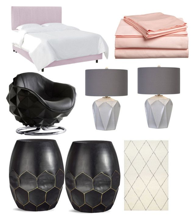 The Single Girl: Bedroom by shamim-mirahmadi on Polyvore featuring polyvore, interior, interiors, interior design, home, home decor, interior decorating, Andrew Martin and bedroom