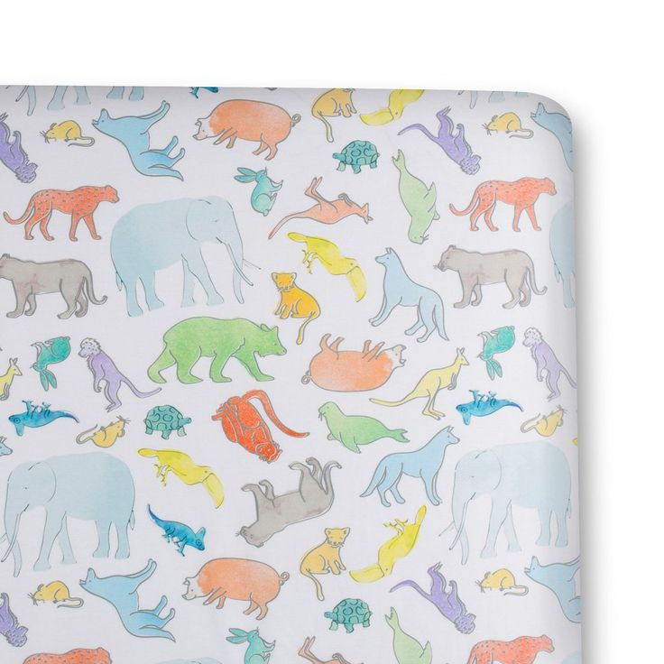 Bassinet Fitted Sheet- Great & Small