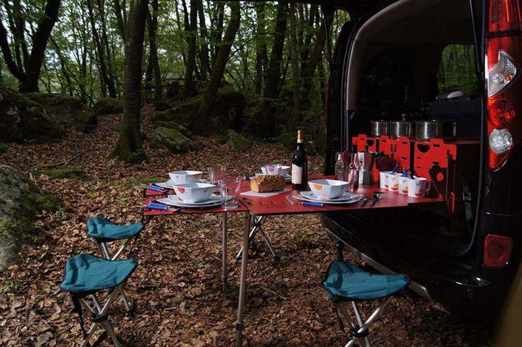 Creative Swiss Room Box Camping System