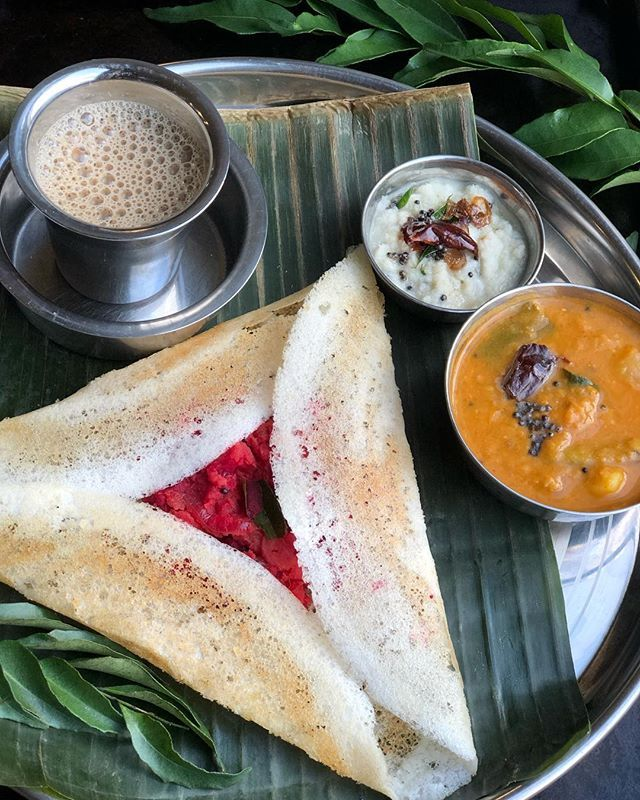Indian Coffee House Style Masala Dosa Recipe Link In Bio