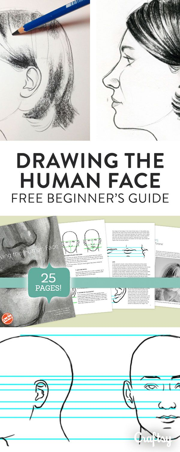 These drawing tutorials and tips are intended for artists newer to drawing the human face, as well as those who are looking to sharpen their skills. Experience with pencil sketching is suggested, but not required.