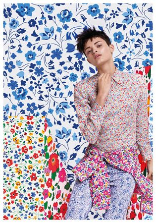 Liberty London for Uniqlo clothing and accessories range