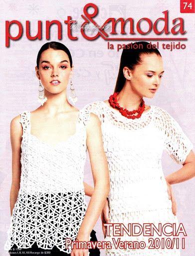 Moda Knitting Books : Best tejer la moda punto e para ti crochet