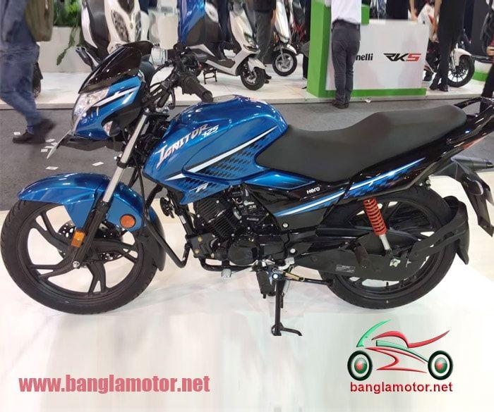 Hero Ignitor 125 Is One More Hero S Stylish Bike In 125cc Segment