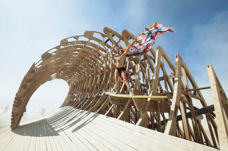 Gorgeous Shan at Burning Man 2014  Buy the ticket, take the ride.  Photo by Victor Habchy