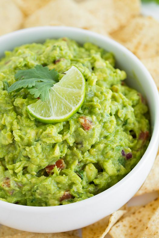 Guacamole - this is my FAVORITE guacamole recipe! Easy and so delicious!