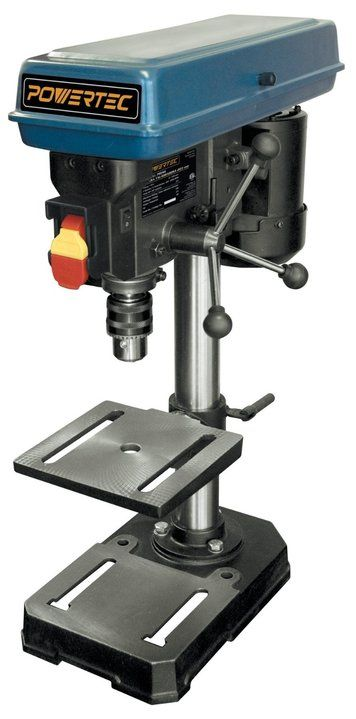 POWERTEC DP801 Baby Drill Press, 5-Speed Review