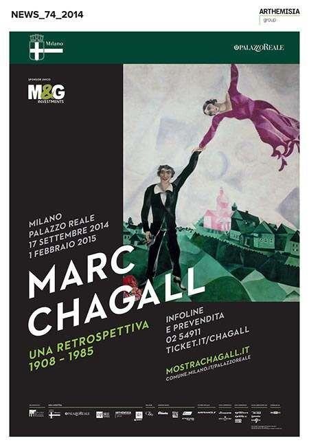 CHAGALL-palazzo-reale Milano