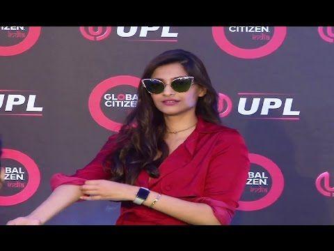 Sonam Kapoor at Global Citizen India Festival 2016.
