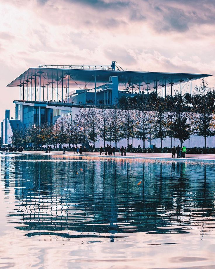 The Stavros Niarchos Foundation Cultural Centre #Athens #