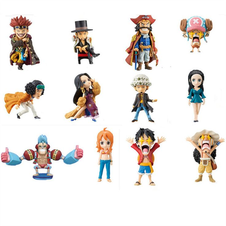 6pcs One Piece Roger Usopp Chopper Robin Law Kid Luffy Nami Action Figures //Price: $29.00 & FREE Shipping //     #onepiecelover #onepieceatatime #dluffystore