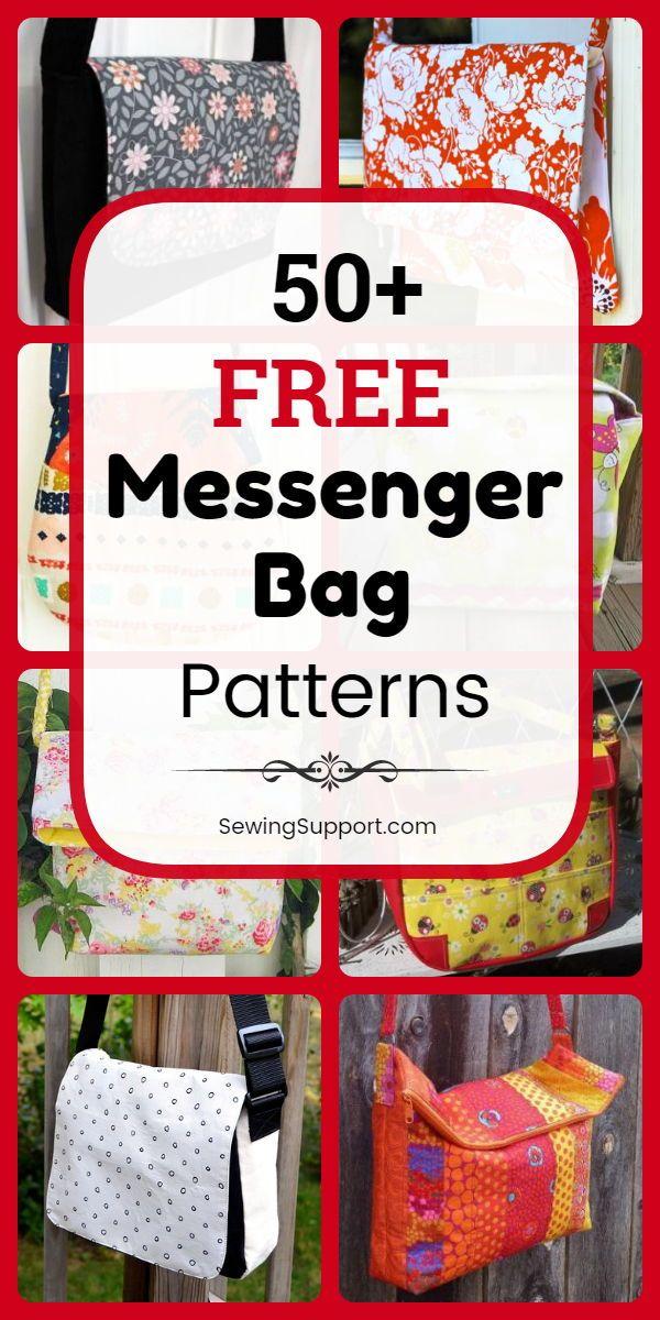 30+ Free Messenger Bag Patterns