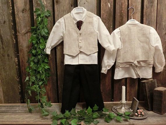 Boys formal wear. Rustic ring bearer outfit. Boys christmas outfit. Toddler suit,  special occasion. Country wedding, boys wedding clothes