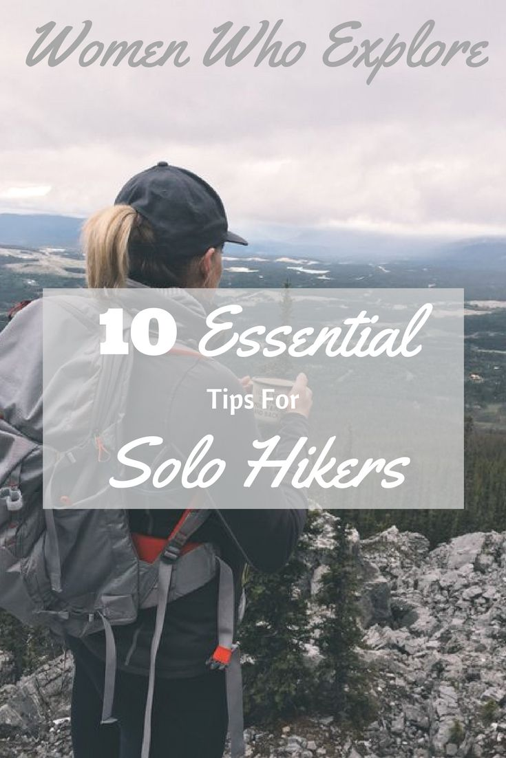 10 Tips for the solo hiker