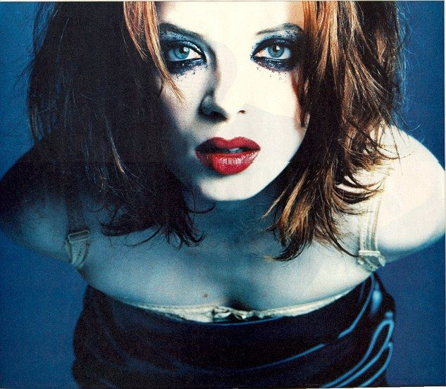 S. Manson Garbage singer in 2001. Like the haircut.