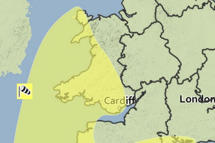 High winds and flooding forecast as Met Office issues weather warning for Wales