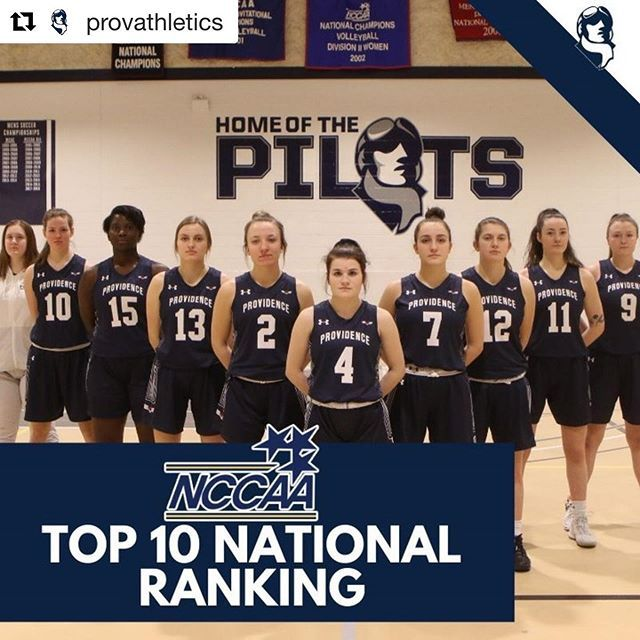 Congratulations To The Provathletics Pilots Womens Basketball Team For Cracking The Top 10 In The Nccaa National In 2020 Basketball Teams Womens Basketball Basketball