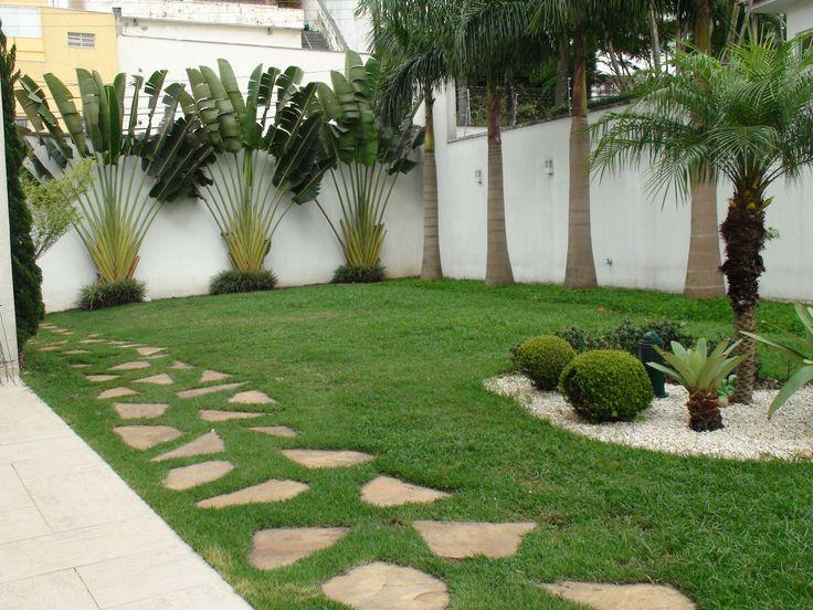 25 melhores ideias sobre jardim frontal no pinterest for Decoracion de jardines con piscinas pequenas