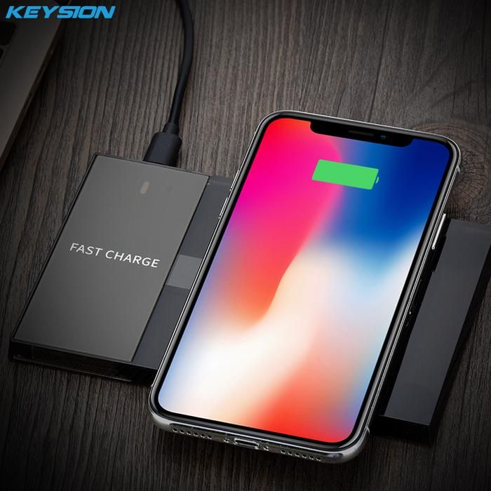 KEYSION Qi Wireless Charger 10W Fast Wireless Charger