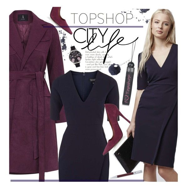 TOPSHOP Dresses Guide - Work Wear by beebeely-look on Polyvore featuring Topshop, Rare London, Faber-Castell, WorkWear, dress, preppy, dresses and topshop