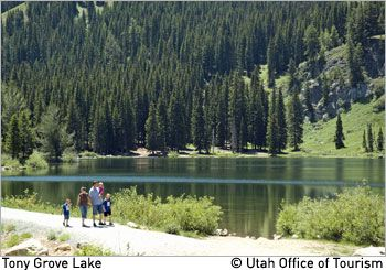 Link to Logan area hikes.