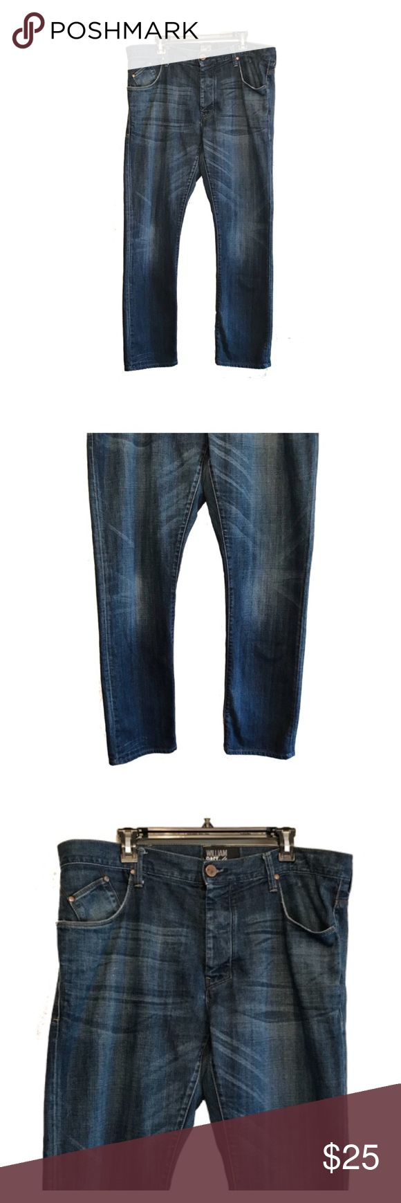 Men's 38x32 William Rast jeans Men's 38x32 William Rast jeans with tapered fit. Great lightly destructed jeans. William Rast Jeans